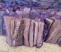 Nerzsack für Brennholz