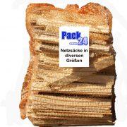 Netzsack für Brennholz Raschelsack für Gemüse